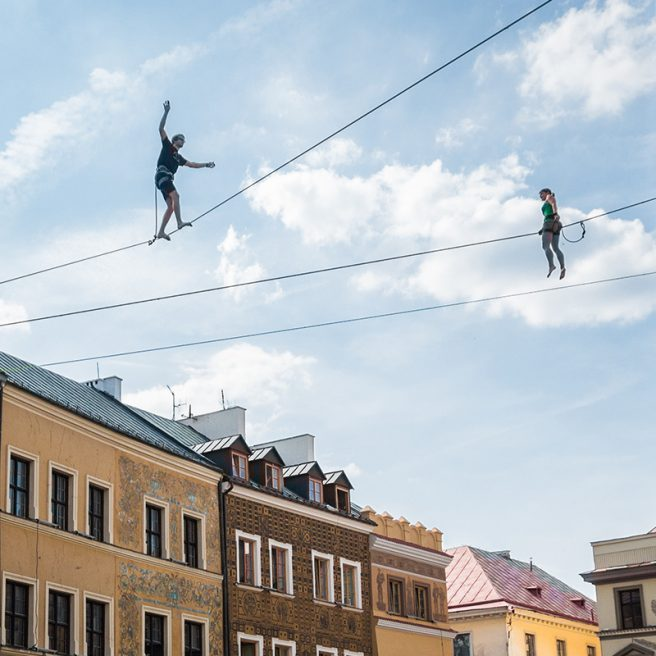 360° panorama – URBAN HIGHLINE FESTIVAL, LUBLIN